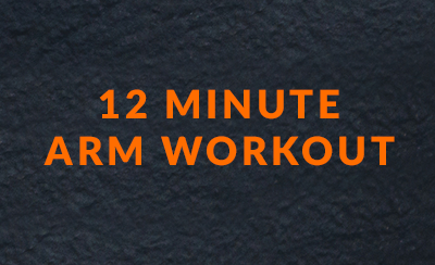 12 minute arm workout