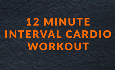 12 minute cardio workout