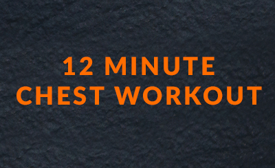 12 minute chest workout