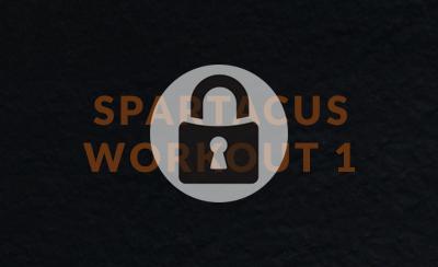 Spartacus Workout 1
