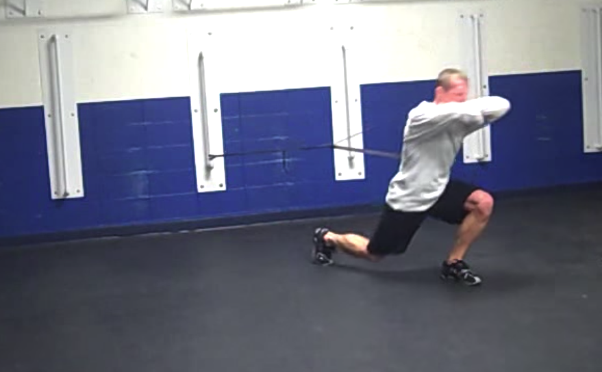 Attached Reverse Lunge Variations
